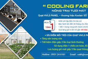 """Chương trình """"Cooling Farm"""" – NÔNG TRẠI TƯƠI MÁT"""
